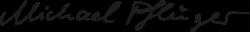 Logo Michael Pflüger