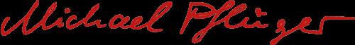 Logo Michael Pflüger rot